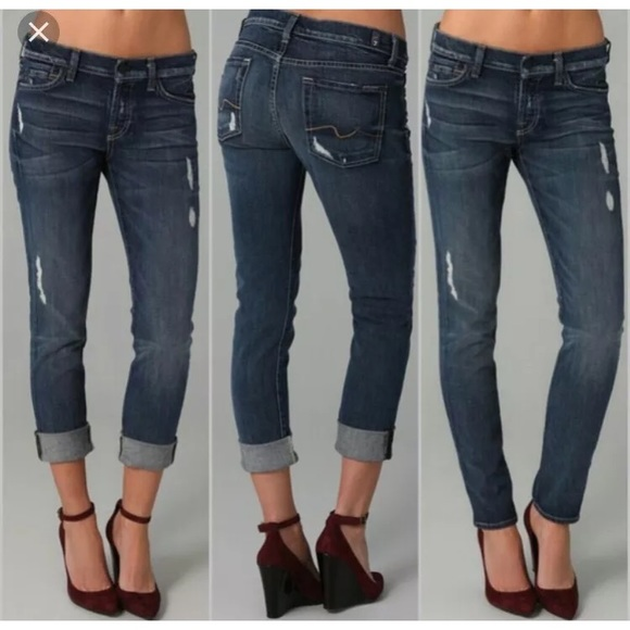 b085a4ff50c2b 7 For All Mankind Denim - 7 for all mankind Josefina boyfriend jeans